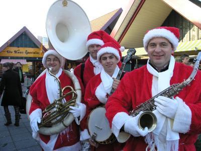 Kerstmannenlooporkest